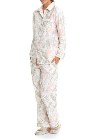 PAPINELLE ORCHID BRUSHED COTTON PYJAMAS