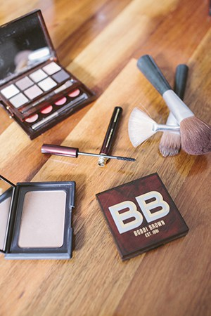 mad about bobbi; lisa is a huge fan of bobbi brown
